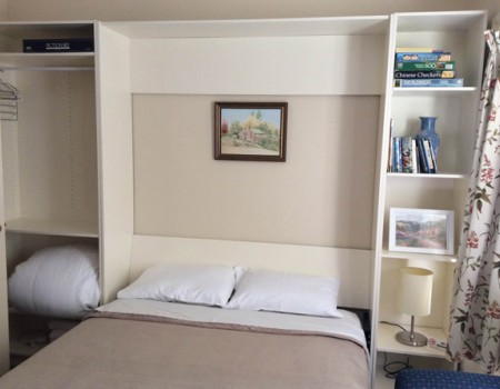Cottage Living Room fold down wallbed